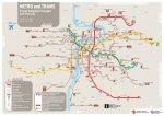 plan du metro - prague