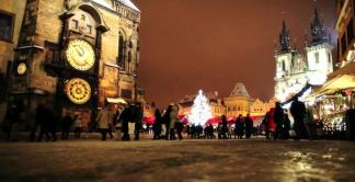La magie de l'Avent, des Marchés de Noël, ou tout simplement de Prague sous la neige